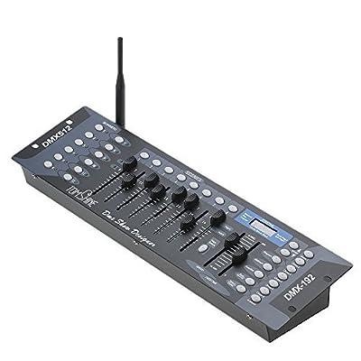 Tomshine 192 Channels DMX 512 Stage Lighting Controller