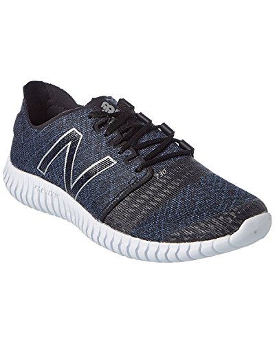 New Balance Mens M730V3 Flexonic Running Shoe, Black/Impulse, 47.5 D(M) EU/12.5 D(M) UK