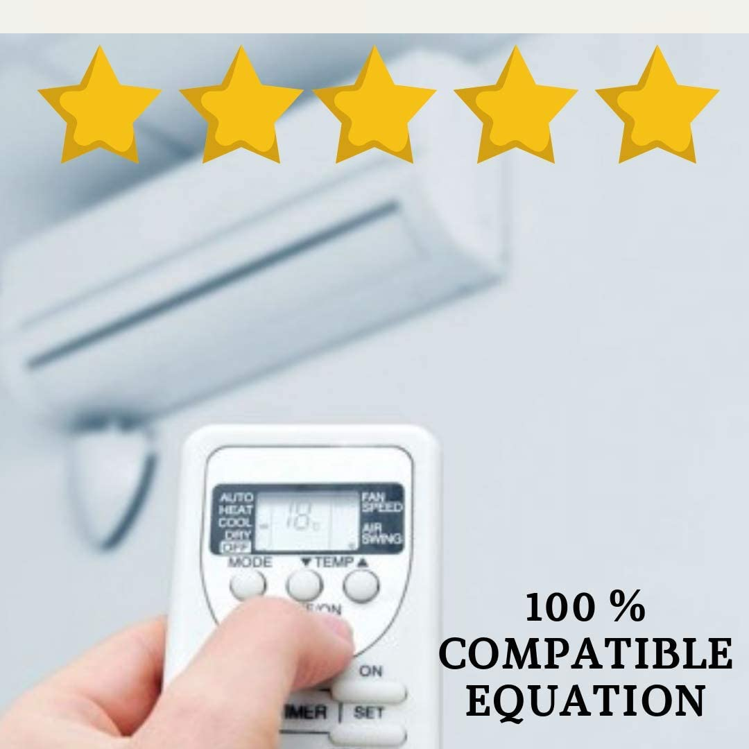 Mando Aire Acondicionado Equation - Mando a Distancia Compatible 100% con Aire Acondicionado Equation Entrega en 24-48 Horas. Equation MANDO COMPATIBLE
