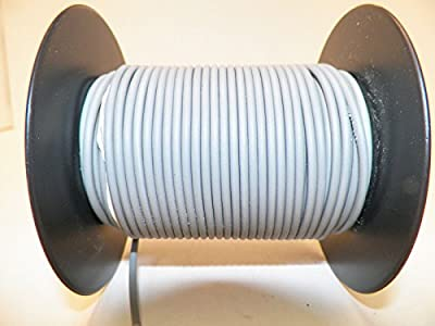 GRAY Automotive TXL Copper Wire, 22 GA, AWG, GAUGE. Truck, Motorcycle, RV. General Purpose. DEFFERENT LENGTHS AVAILABLE, SELECT LENGTH BELOW