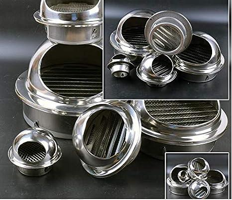 NO LOGO SY-KTLJ, Buen diámetro de Trabajo 60 mm -75 mm Ventilador del Tubo Extractor Extractor Extractor de Acero Inoxidable Salida del Extractor Ventilador (Size : 70MM): Amazon.es: Hogar