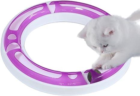 Juego de pelotas de juguete para gatos CEESC, puzle y rastreador ...