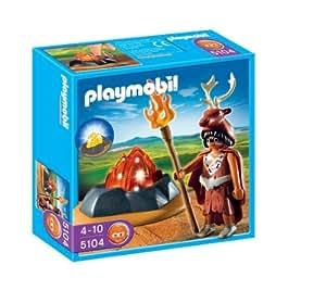 Playmobil - Edad Piedra Guardián Del Fuego (5104)