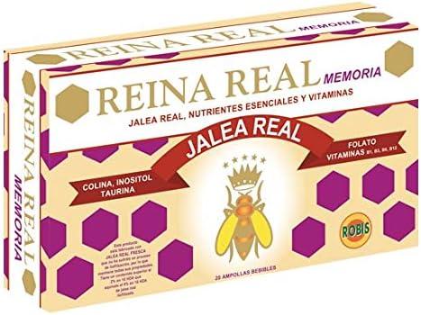 Robis Reina Real Memoria Jalea Real 500 mg 20 Ampollas