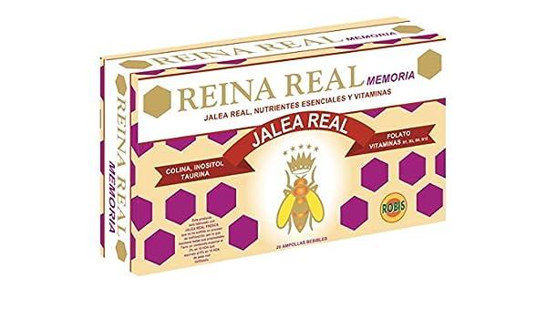 Robis Reina Real Memoria Jalea Real 500 mg 20 Ampollas: Amazon.es: Salud y cuidado personal