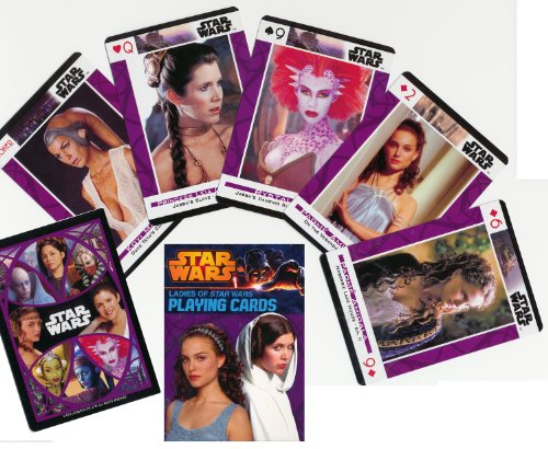 Ladies of Star Wars Playing Cards 2013 Edition - Featuring 55 Different (Angry Birds Halloween 1-2 3 Stars)