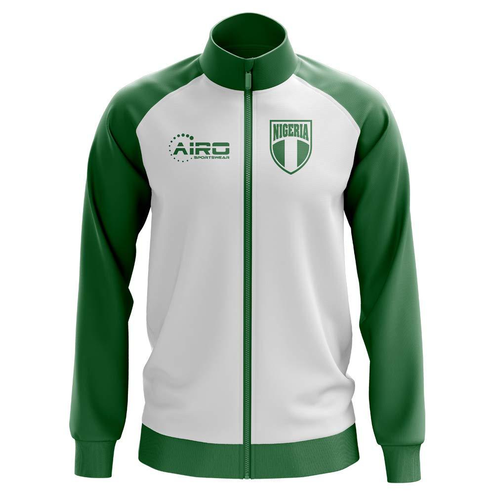 Airo Sportswear Nigeria Concept Football Track Jacket (Weiß) - Kids