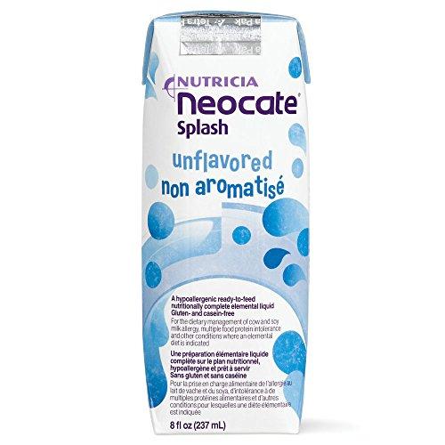 Neocate Splash, Unflavored, 237 mL (Case of 27) ()