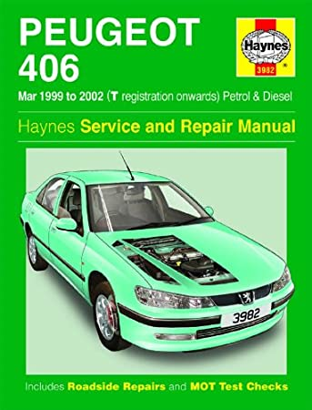 peugeot 406 repair manual haynes manual service manual workshop rh amazon co uk Peugeot 406 Manual PDF Peugeot 406 HDI Manual
