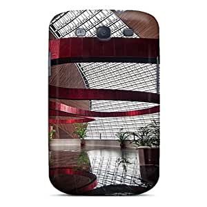 Williamore GeVdzSu16113VuVXg Case For Galaxy S3 With Nice The Red Ribbon Appearance