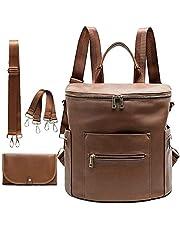 MF Store Diaper bag, Leather Diaper Bag Backpack