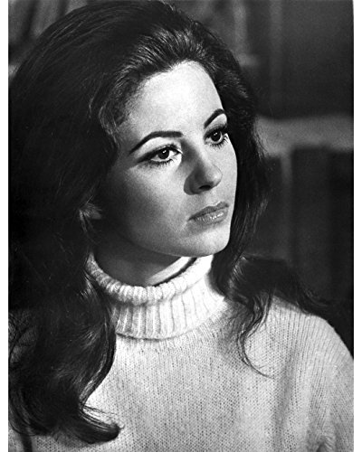 Globe Photos ArtPrints Portrait Of Barbara Parkins Wearing Turtle Neck Sweater - 8