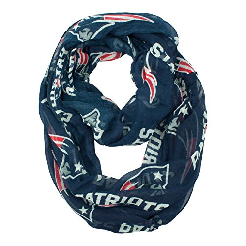 NFL New England Patriots  Sheer Infinity - Womens New Scarf