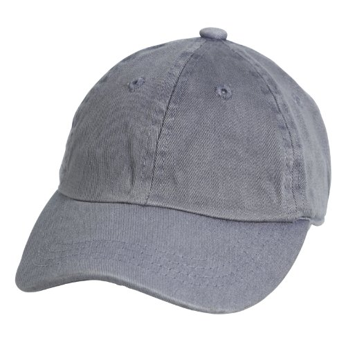 City Thread Little Boys and Girls Solid Baseball Hat - Carbon Gray - L