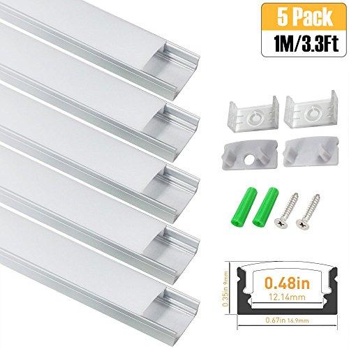 Led Strip Light Channel Plastic