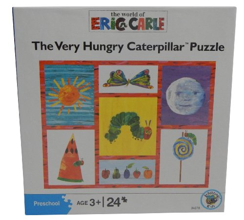 - The World of Eric Carle Very Hungry Caterpillar 24 Piece Puzzle
