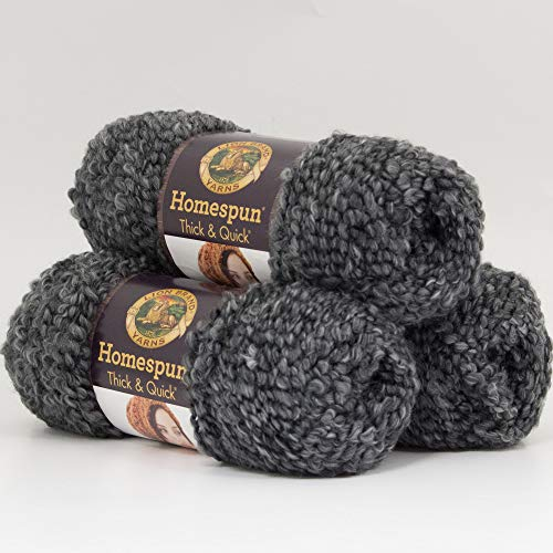 ((3 Pack) Lion Brand Yarn 792-312 Homespun Thick and Quick Yarn, Edwardian)