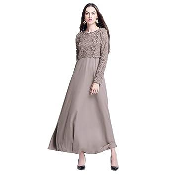 693bb0380a3605 Robe Musulmane Femmes Musulman Kaftan Abaya Jilbab à Manches Longues ...