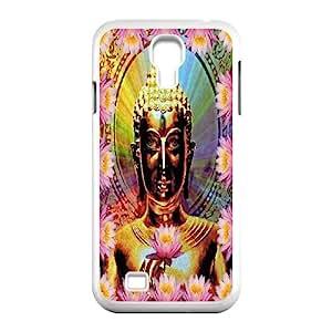 New Fashion SamSung Galaxy S4 I9500 Case, Golden Buddha quote Custom Phone Case