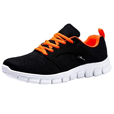 3982103a29d5e Amazon.com: Moonker Women Girls Fashion Tennis Shoes Student Running ...
