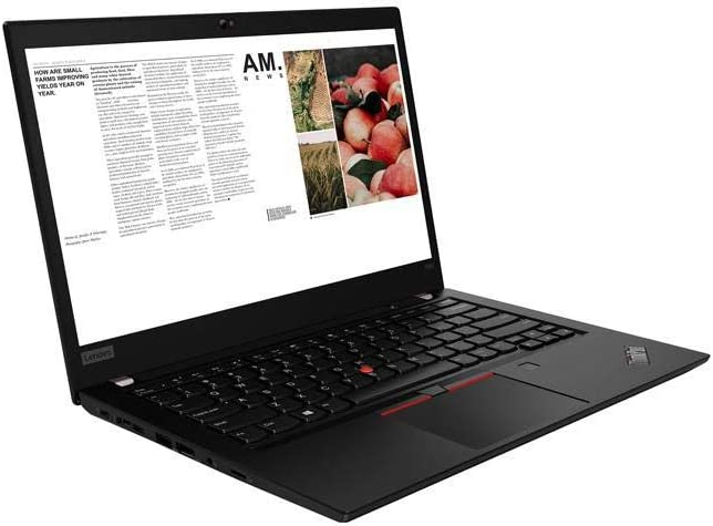 "Lenovo ThinkPad T490 14"" Laptop (Latest Model) Core i7-10510U 10th Gen (1.80Ghz to 4.90Ghz) 512GB SSD 16GB RAM FHD 1080P Touch WiFi 6 AX 20RY0002US"