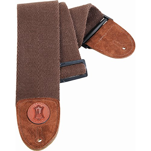 - Levy's Leathers MSSC4-BRN Cotton Bass Guitar Strap, Brown
