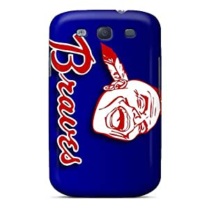 Hot Tpye Atlanta Braves Case Cover For Galaxy S3