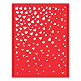 Spellbinders S4-457 Cascade Hearts Decorative Card Front Card Creator Etched/Wafer Thin Dies