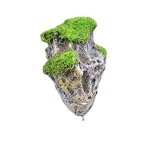 Blytieor Aquarium Floating Rocks Suspended Stones Artificial Fish Tank Underwater Landscape Decoration Lizard Climb Rocks Small