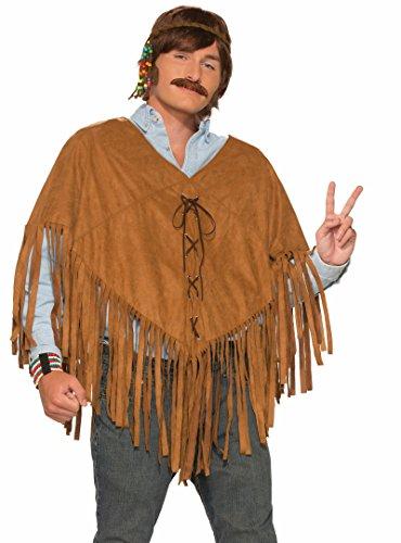 74767 (Faux Suede Hippie Vest Adult Costumes)