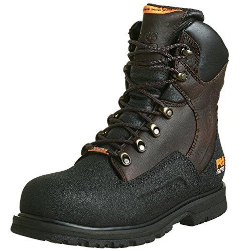 Timberland PRO Mens G48Powerwelt Waterproof 8 Steel-Toe Boot, Brown, 41.5 2E EU/7.5 2E UK