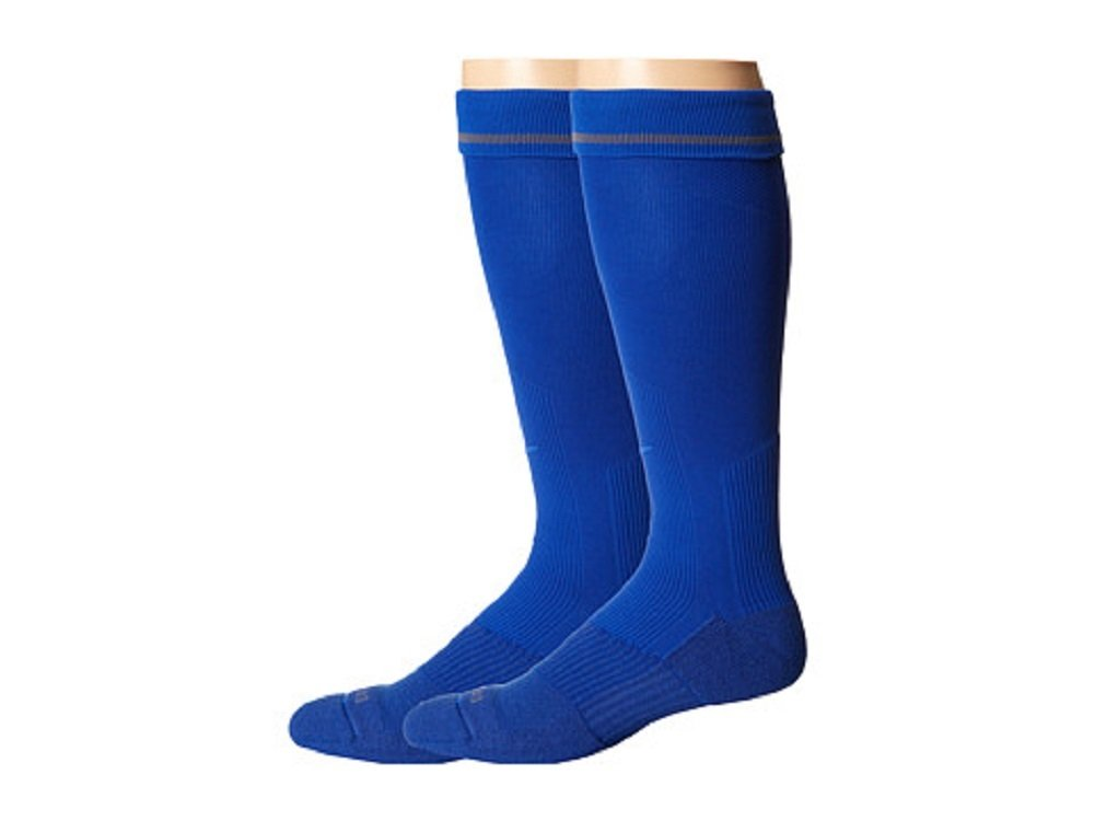 Nike 2 Pair Pack Baseball Sock Game Royal/Game Royal Crew Cut Socks Shoes by Nike