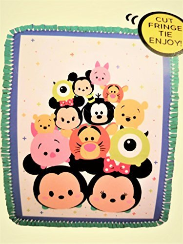 Disney Tsum Tsum No-Sew Fleece Throw Kit