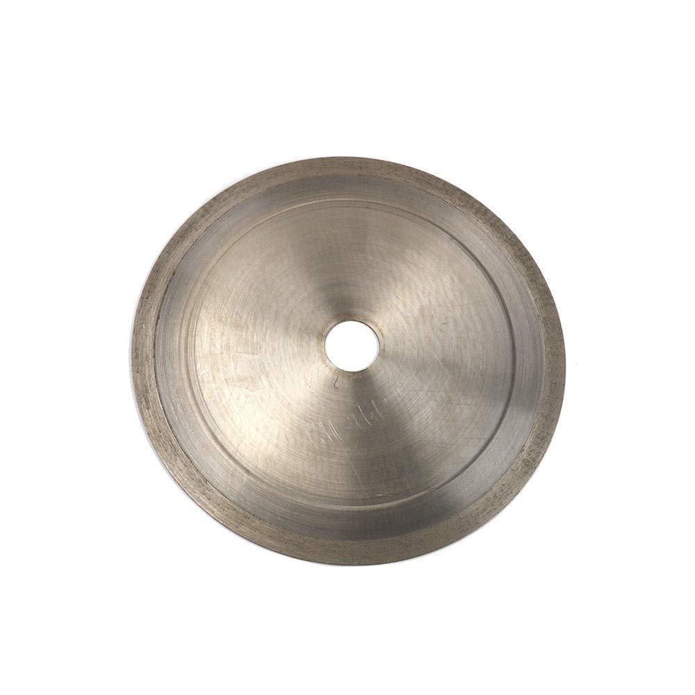 Join Ware 10 Inch 250 mm Ultrathin Continuous Rim Diamond Saw Blade Cutting Wheel Grinding Cutter Cut Glass, Tile, Jade 1'' Arbor