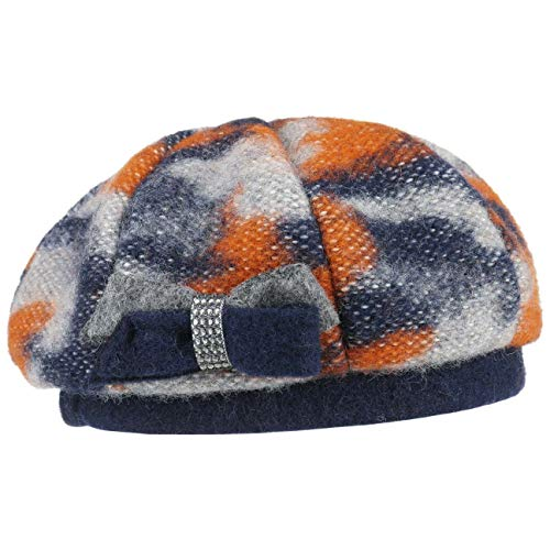 28ad14f142c48 Lierys Carina Wool Beret Women Orange One Size