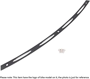 GZYF Black CNC Aluminum Motorcycle Slotted Windshield Trim Compatible with Harley Davidson Touring PLHT/FLHTC/FLHTCU/FLHX 1996-2013, A-Style