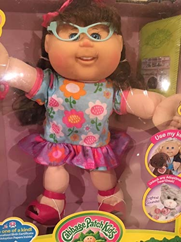 Used, Cabbage Patch Kids Doll Adoptimal Key Floral Dress for sale  Delivered anywhere in USA