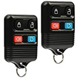 Car Key Fob Keyless Entry Remote fits Ford, Lincoln, Mercury, Mazda (CWTWB1U331 GQ43VT11T CWTWB1U345 4-btn, Set of 2)