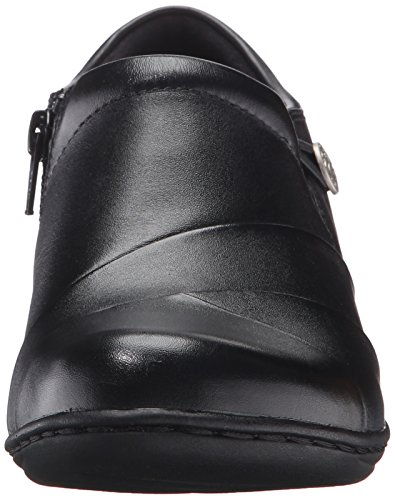Slip Women's Leather Black 10 Us M Channing Clarks on Loafer Ann 7tW0qUHwq