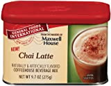 General Foods International Chai Latte Coffee Drink Mix, 9.7-Ounce Tins (Pack of 6)