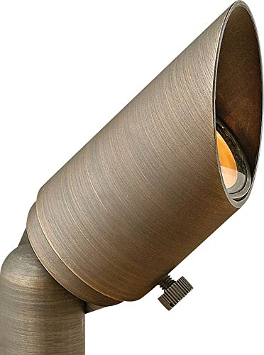 """Price comparison product image Hinkley Hardy Island 2 1 / 2"""" High Bronze Outdoor Spot Light"""