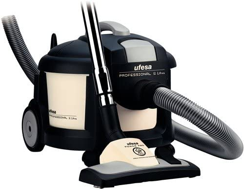 Ufesa AP8100 Professional 12 LT, 230-400 V, 1300 W, 1300 W, 12 L, Negro, Plata, 460 x 353 x 337 mm - Aspirador: Amazon.es: Hogar