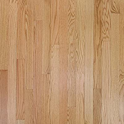 "2 1/4"" x 3/4"" Red Oak Select & Better Unfinished Solid Wood Flooring Samples at Discount Prices by Hurst Hardwoods"