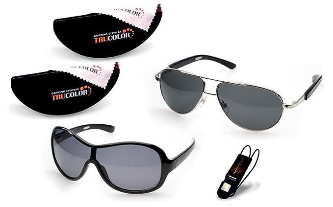 True Color - Gafas de sol - para mujer Silber, Schwarz ...