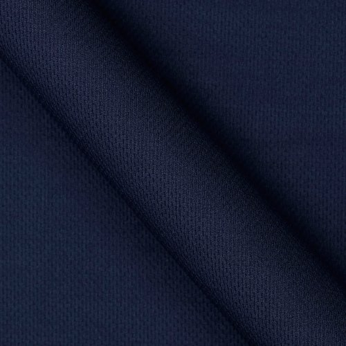 (Textile Creations Athletic Mesh Knit Navy Fabric By The Yard)