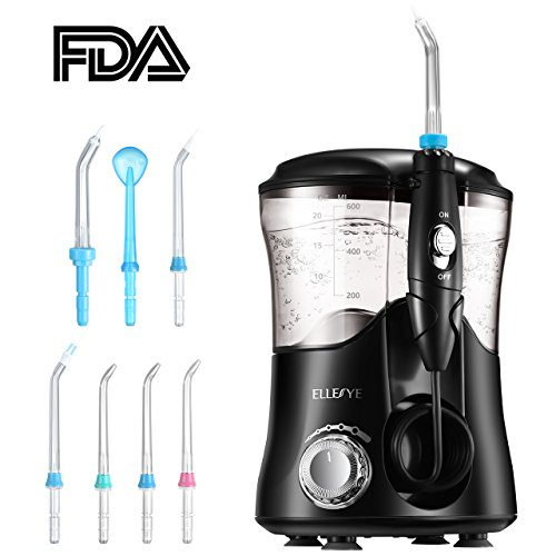 Ellesye Upgraded 600ml Water Flosser With 7