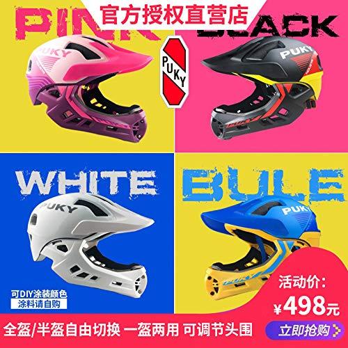 ドイツPUKY赤ちゃんの口ヘルメットバイク子供のバランスkokua CRATONIは、フルフェイスの保護の下で製品の商品です   B07S3N1HFS