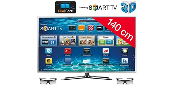 SAMSUNG Televisor LED Smart TV 3D UE55ES6900: Amazon.es: Electrónica