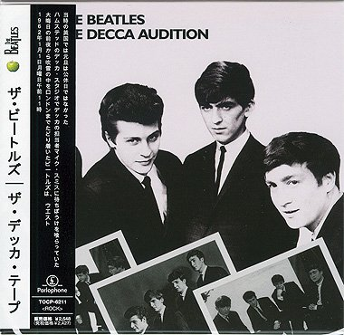 The beatles the beatles the decca audition audio cd mlps.
