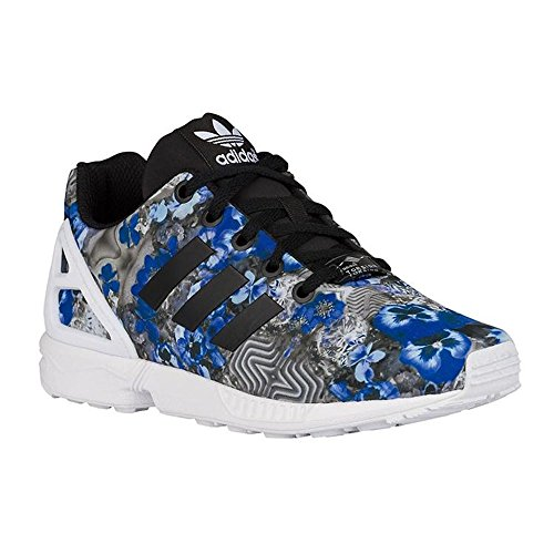 Floral Damen Flux Adidas Torsion weiß ZX Blau grau Sneaker City 71wppq